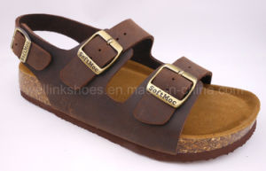 2017 Cork Shoes Cork Sandal Cork Slipper pictures & photos