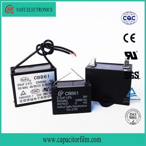 Cbb61 Metallized Polypropylene Film AC Capacitor for Generator Use pictures & photos