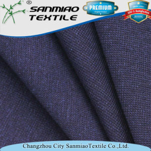 Spandex Indigo Knitted Denim Rib Fabric for Cloth pictures & photos