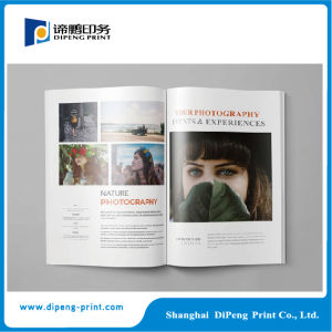 Customized Designed Book Magazine Catalogue Printing pictures & photos
