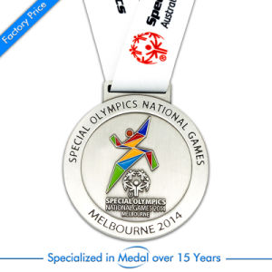 China Custom Stamping Silver Running Sport Meeting Medal pictures & photos