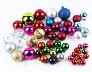 OEM Colorful Christmas Ball Hang for Christmas Tree Decoration pictures & photos