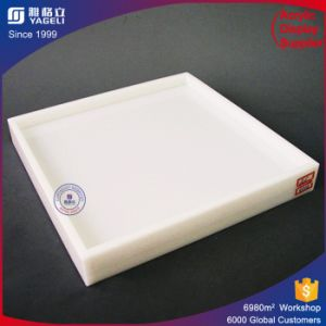 Multi Purpose White Acrylic Tray for Food Display / Collection pictures & photos