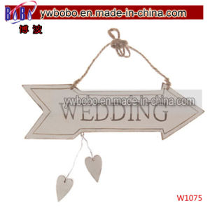 Wedding Sign Arrow Vintage Style Plaque Party Decoration Party Products (W1075) pictures & photos