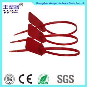 Red Plastic Mechanical Seal Metal Injection