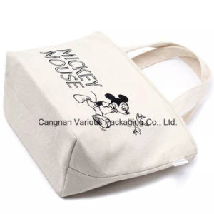 OEM Cotton Canvas Lunch Bag, Picnic Tote Bag pictures & photos