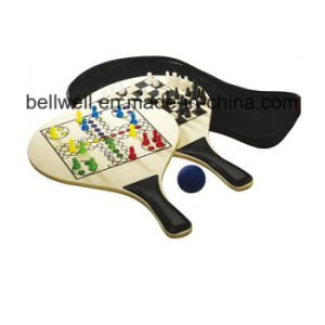 Promotional Gifts Wooden Tennis Racket for Beach Sports pictures & photos