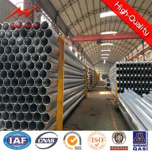 Round Shape Galvanized Electricity Steel Pipe pictures & photos