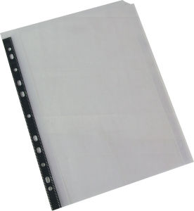 High Quality Office Supply Stationery 11 Hole Folded-Edge Bag pictures & photos