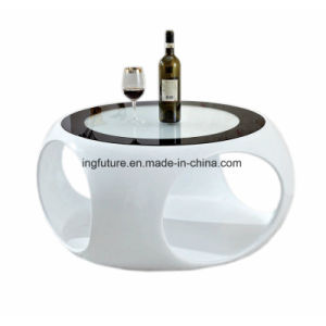 Hollow Design Fiber Glass Coffee Table pictures & photos