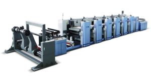 Eco-Friendly Flexographic Printing Machine pictures & photos