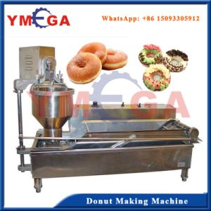 Long Servie Life Stainless Steel Donut Shaping and Frying Machine pictures & photos