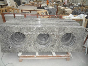 China Overlord Flower Grey Marble Slab pictures & photos