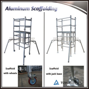 China Factory Price Mini Scaffolding Aluminium Mobile Scaffold Folding pictures & photos