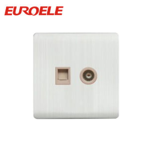 Universal Tel Socket +TV Socket /Data Socket +Satellite Socket pictures & photos