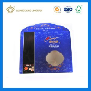 Shampoo Package Box with UV Vanishing (Gold Card Printing) pictures & photos