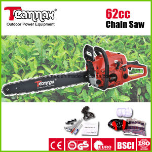 Gasoline Chainsaw with Ce, GS, Euro II, Certificate 61.5 Cc Power Tools pictures & photos