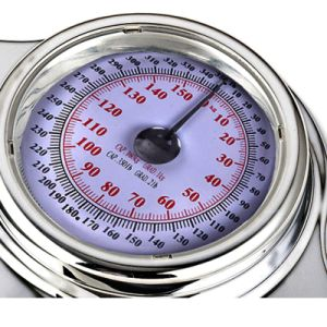 Household Mechanical Scale with Chrome Plated Metal Housing pictures & photos