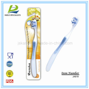 Big Handle Toothbrush with Massager/Tongue Cleaner pictures & photos