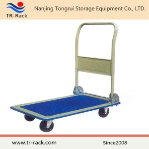 Foldable Metal Platform Hand Truck From Tr-Rack pictures & photos