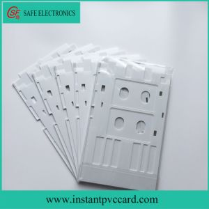 White Inkjet PVC ID Card Tray for Epson R290 Printer pictures & photos