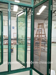 Woodwin Hot Seller Thermal Break Aluminum Window with Mosquito Net pictures & photos