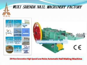 Automatic Nail Making Machine with Ce, ISO9001 Certificate pictures & photos