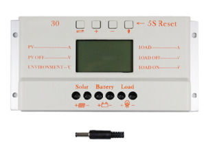 30A 12V/24V Solar Charge Regulator with Metal Shell, LCD Display M30 pictures & photos