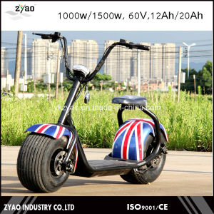 2017 Adult Scooter City Coco 60V/20ah Harley Electric Scooter pictures & photos