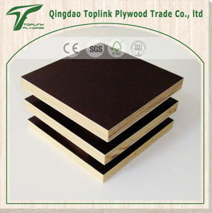 Strong and Durable 18mm Shuttering Plywood/Film Faced Plywood with Good Price pictures & photos