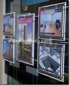 LED Light Pockets for Real Estate Agent Cable Display System pictures & photos
