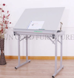 Adjustable Height Desk Drafting Drawing Table Designer Desk (SZ-ODE06) pictures & photos