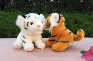 Real Like Plush Stuffed Tiger Animal Toys for Children pictures & photos