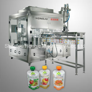 Puree Filling Machine for Spouted Pouch pictures & photos