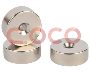 Round Permanent Magnet with Holes pictures & photos
