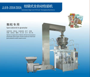 Rotary Type Pre-Made Pouch Packing Machine (JL6-200)