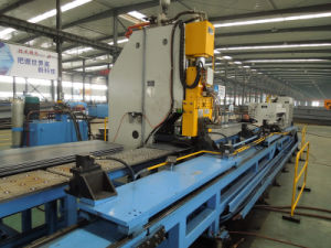 Hydraulic Punching Machine for Plates Add The Plasma Cutting Unit pictures & photos