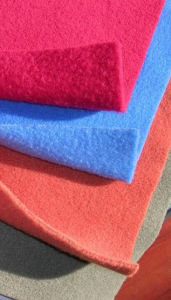 100% Polyester Solid Polar Fleece Fabric with Anti-Pilling