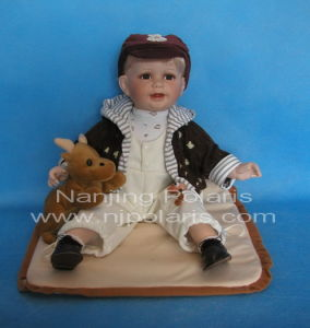"24"" Porcelain Baby Doll (A106)"