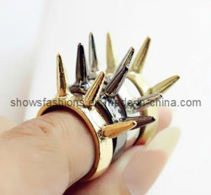 Finger Ring/Fashion Plated Stud Finger Ring/ Fashion Jewelry (XRG12052) pictures & photos