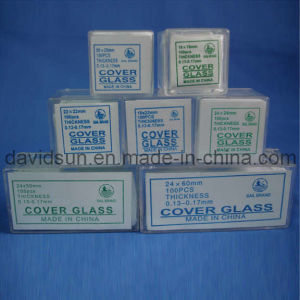 Lab Microscope Slide and Cover Glass Manufacture pictures & photos