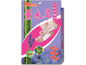 Bamboo Vinegar Plasters with Lavender