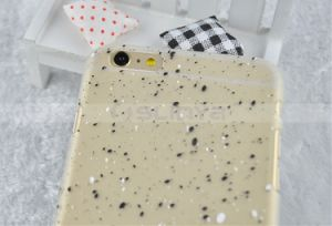 Super Thin Protective Cases Snowflakes Flashing Luminous Case for iPhone 6 6s 5 Plus Samsung S7 S6 Edge pictures & photos