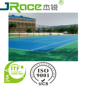Water-Based Coating for Silicon PU Sports Court Surface, Basketball/Volleyball/Tennis pictures & photos