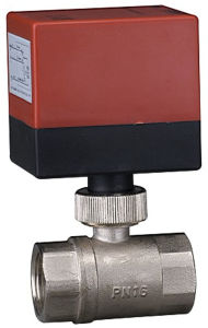 Brass Motorized Ball Valve for Fancoil and Heating System (DQ215) pictures & photos