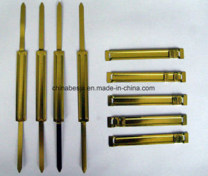 7cm and 8cm Golden Color Paper Fastener (BJ-2601) pictures & photos