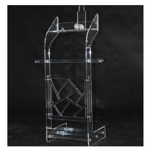 Acrylic Clothes Rack (AUF027)