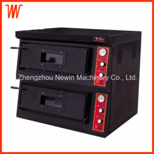 220V Countertop Electric Double Deck Pizza Oven pictures & photos