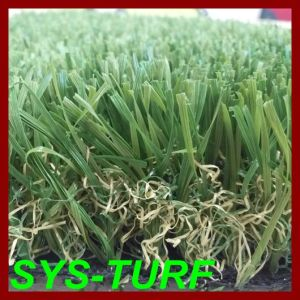 North America Popular W-Shape Blade Synthetic Turf pictures & photos