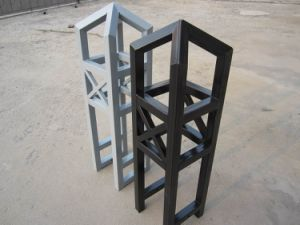 Powder Coated Garden Steel Fencing Post pictures & photos